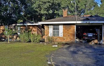 Bayou Vista Fire Chief Ricky Roberts said a fire destroyed a house in the 600 block of Fangue Lane in Bayou Vista Tuesday.