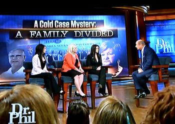 On Dr. Phil McGraw's show Tuesday, sisters Denise Bailey, Amy Lemoine Perkins and Bernadette Lemoine accused their mother, Ellen Lemoine, and brother, Shawn Lemoine, of having knowledge of or possibly a hand in their father's death. A polygraph stated there was no deception involved.
