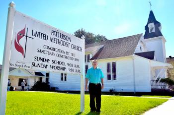 The Rev. Steven J. Porter and the Patterson United Methodist Church congregation are observing the 200th anniversary of their congregation's formation with at least five former pastors spanning six decades taking part in their worship services on Sunday. The building the church now meets in was constructed in 1888.