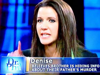 Denise Bailey appeared with her siblings and mother on Dr. Phil Tuesday. Her 60-year-old father died in uncertain circumstances in August 2010. Glenn Lemoine was leaving Cypress Bayou Casino in Charenton when his car left the roadway. Lemoine later was found two miles away in the Charenton Canal.