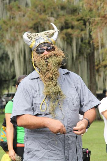 La Fête d'Ecologie was held Saturday, Oct 19, at Lake End Park in Morgan City.  The Cast Net King.
