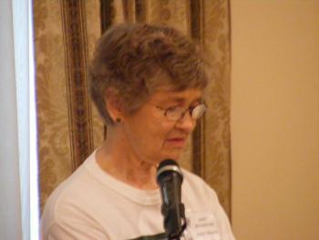 """Janet Boudreaux of Patterson was guest speaker at the Louisiana Garden Club Federation District 3 Fall Luncheon on Oct. 15 in Morgan City. She showed a film by the American Sugar Cane League titled """"Making Life Sweeter Naturally,"""" and answered questions from the audience."""