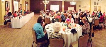 Patterson Garden Club was host to the Louisiana Garden Club Federation District 3 Fall Luncheon on Oct. 15. The event was held at the Petroleum Club of Morgan City. Numerous district clubs were in attendance.