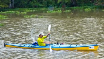 First boat crosses Franklin finish line