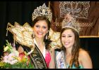 From left Victoria Sagera, 65th Louisiana Cattle Festival queen and  Paige Johnson, Louisiana Shrimp & Petroleum Festival queen.