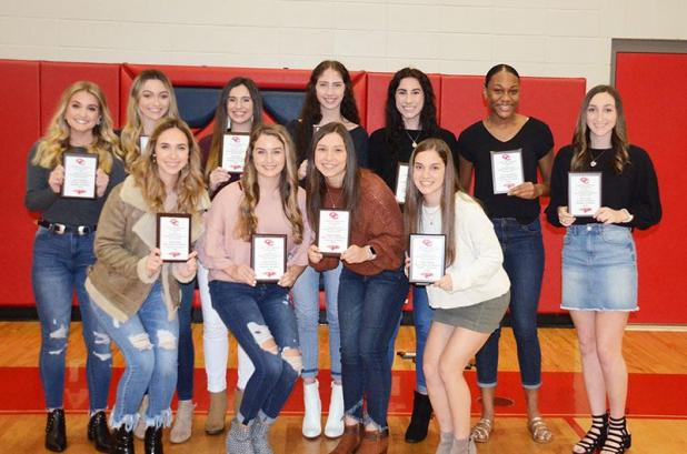 CCHS honors volleyball and football teams St. Mary Now  St. Mary Now